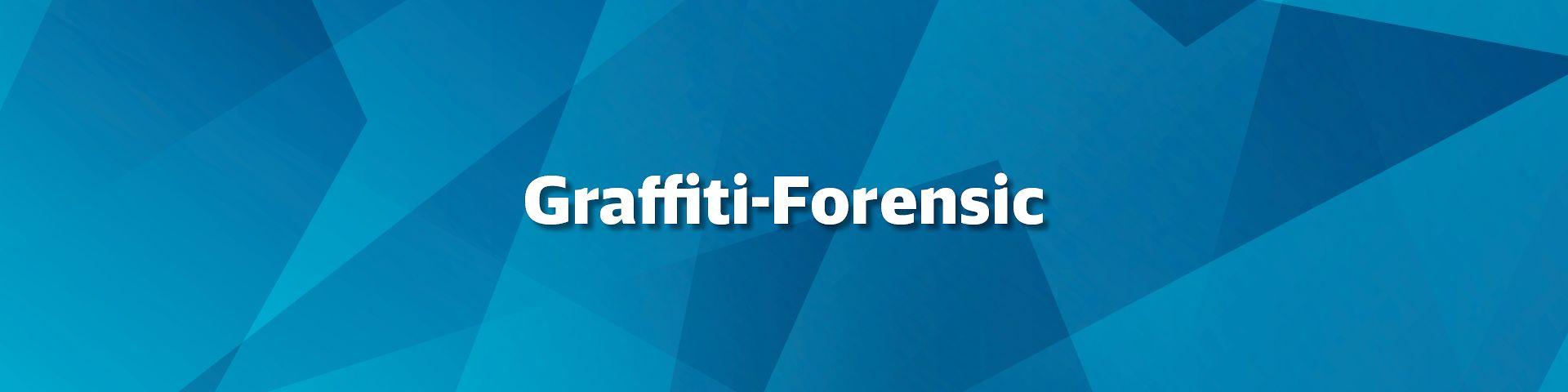 Graffiti Forensic Ermoglicht Aufklarung